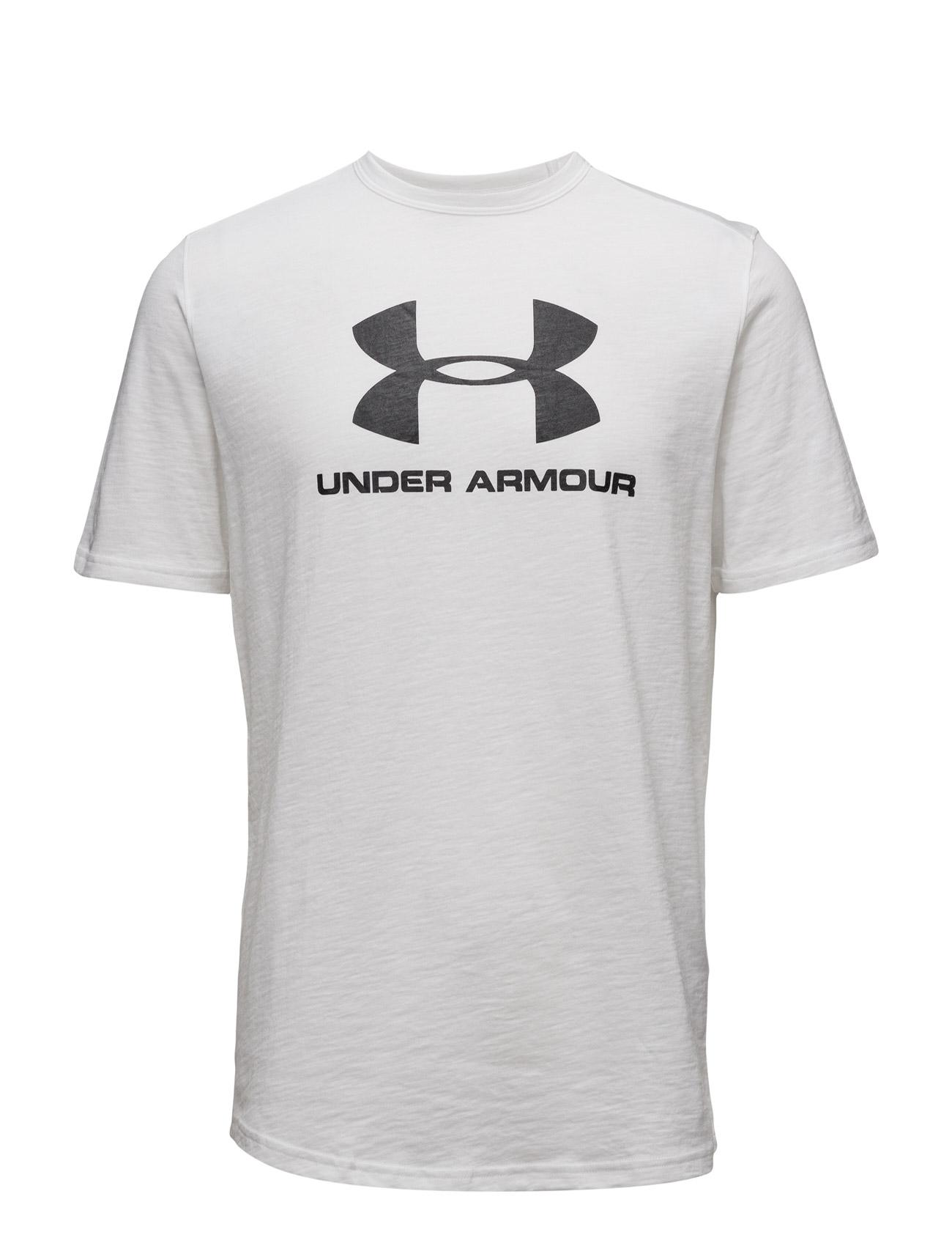 Sportstyle Branded Tee Under Armour Løbe t-shirts til Herrer i Sort