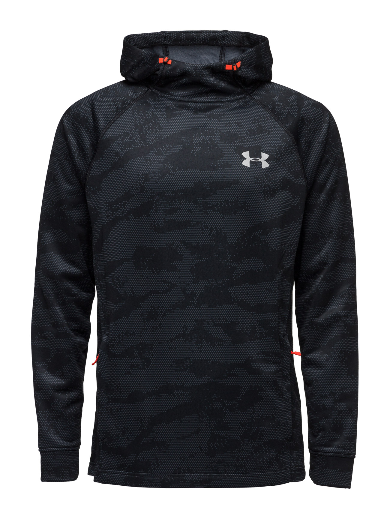 Tech Terry Fitted Po Hoodie Under Armour Sports sweatshirts til Herrer i Sort