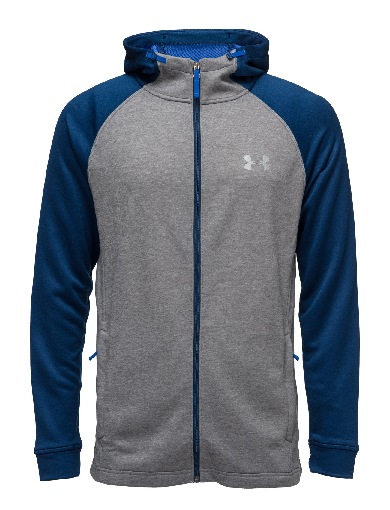 Tech Terry Fitted Fz Hoodie Under Armour Sports toppe til Mænd i