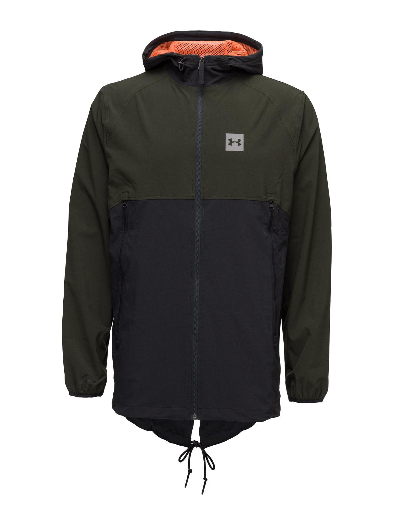 Sportstyle Fish Tail Jacket Under Armour Sports sweatshirts til Herrer i Artillery Green