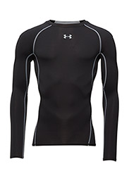 UA HG ARMOUR LS - BLACK