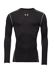 UA CG ARMOUR CREW - BLACK