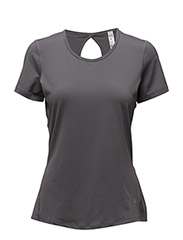 UA HG KRYO SHORT SLEEVE - GRAPHITE