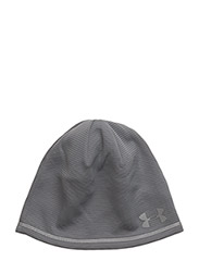 MEN'S UA T400 RUN BEANIE - STEEL