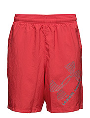 UA 8 WOVEN GRAPHIC SHORT - RED