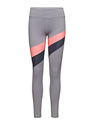 MIRROR STRIPE LEGGING - STEEL