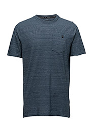 CHARGED COTTON SS POCKET T - BLACKOUT NAVY