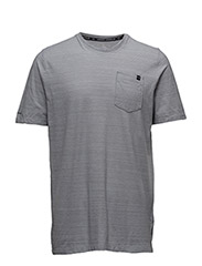 CHARGED COTTON SS POCKET T - TRUE GREY HEATHER