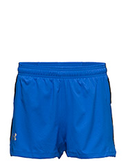 UA LAUNCH SW SPLIT SHORT - BLUE MARKER
