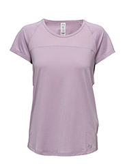 FLY BY SS TEE - FRESH ORCHID