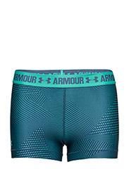 UA HG ARMOUR PRINTED SHORTY - ABSINTHE GREEN