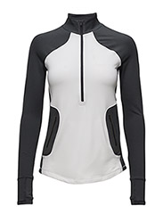 UA ARMOUR REACTOR 1/2 ZIP - WHITE