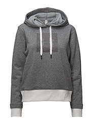 THREADBORNE FLEECE BL HOODIE - STEALTH GRAY