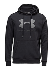 RIVAL FITTED GRAPHIC HOODIE - BLACK