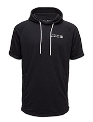 SPORTSTYLE TERRY SS PULLOVER - BLACK