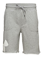 RIVAL EXPLODED GRAPHIC SHORT - TRUE GRAY HEATHER