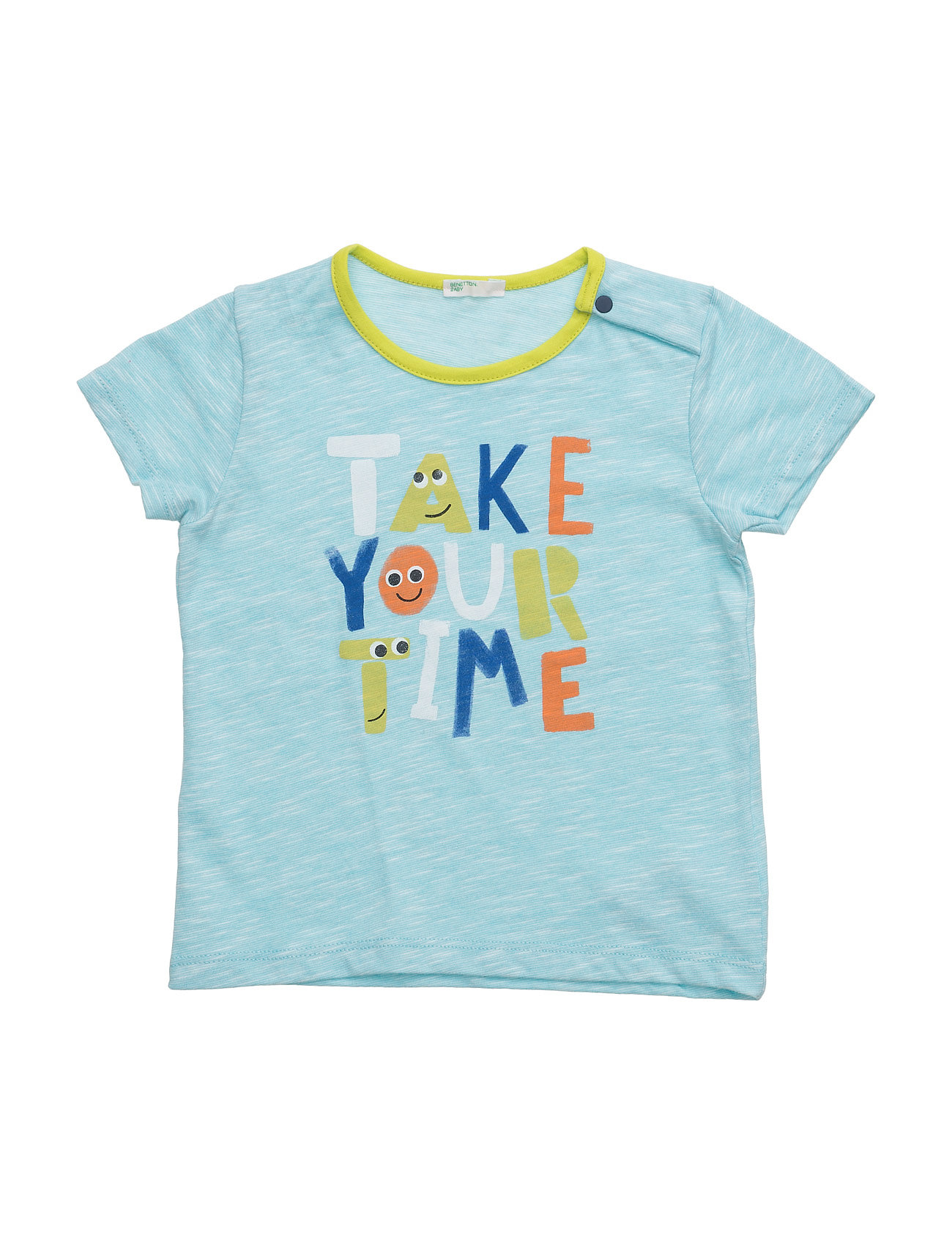 T-Shirt United Colors of Benetton Kortærmede t-shirts til Børn i