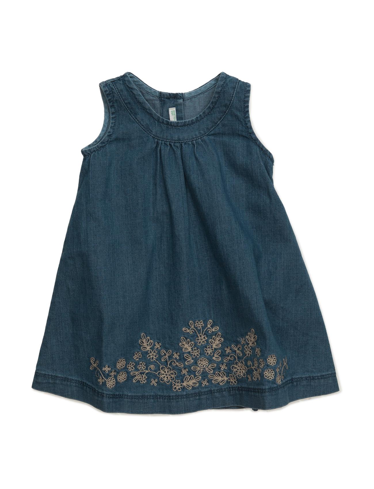 Dress United Colors of Benetton Kjoler til Børn i Blå