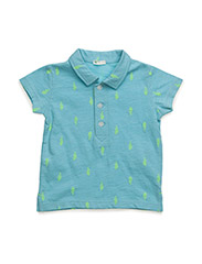 H/S POLO SHIRT - TURQUOISE