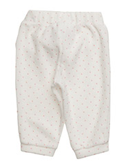 TROUSERS - WHITE PINK