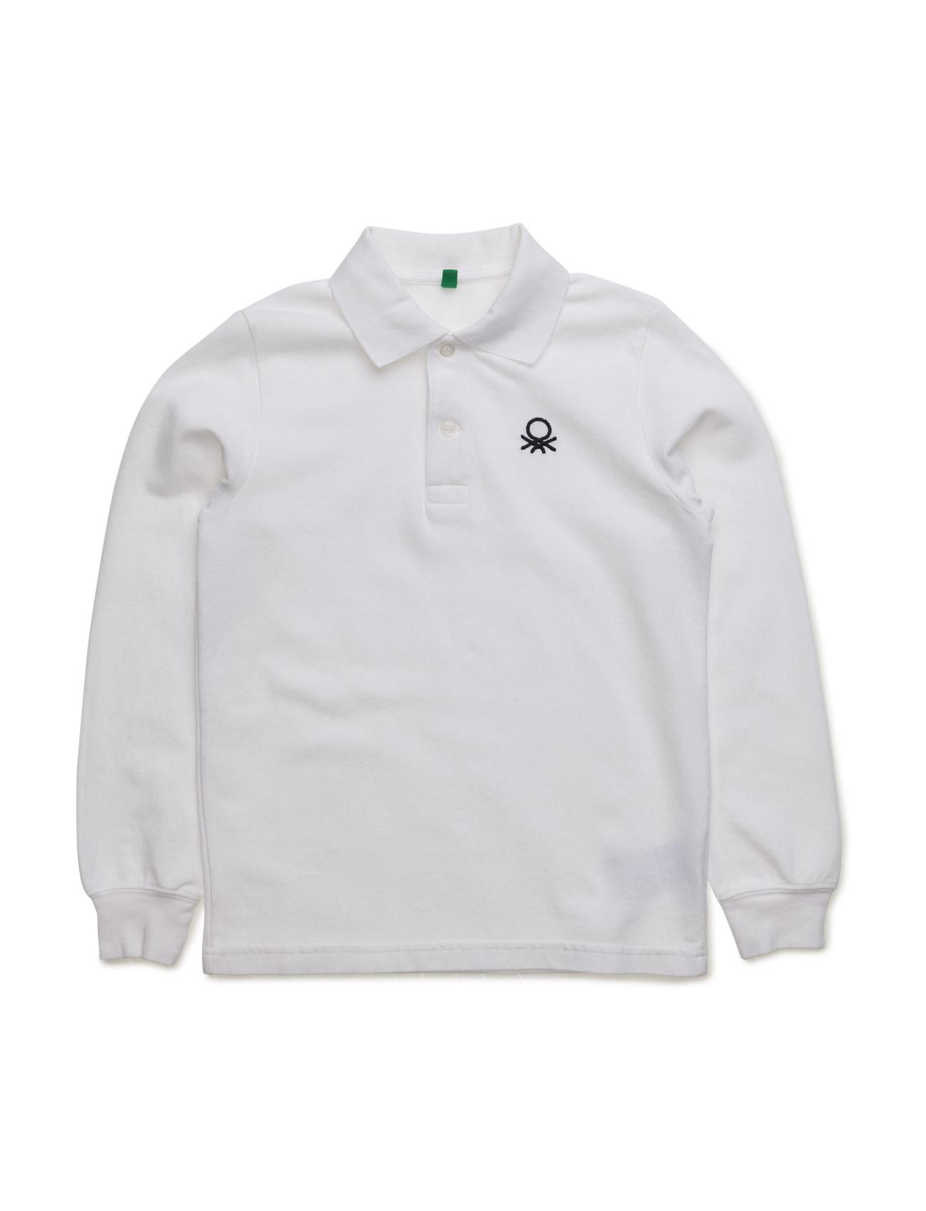 L/S Polo Shirt United Colors of Benetton T-shirts til Drenge i