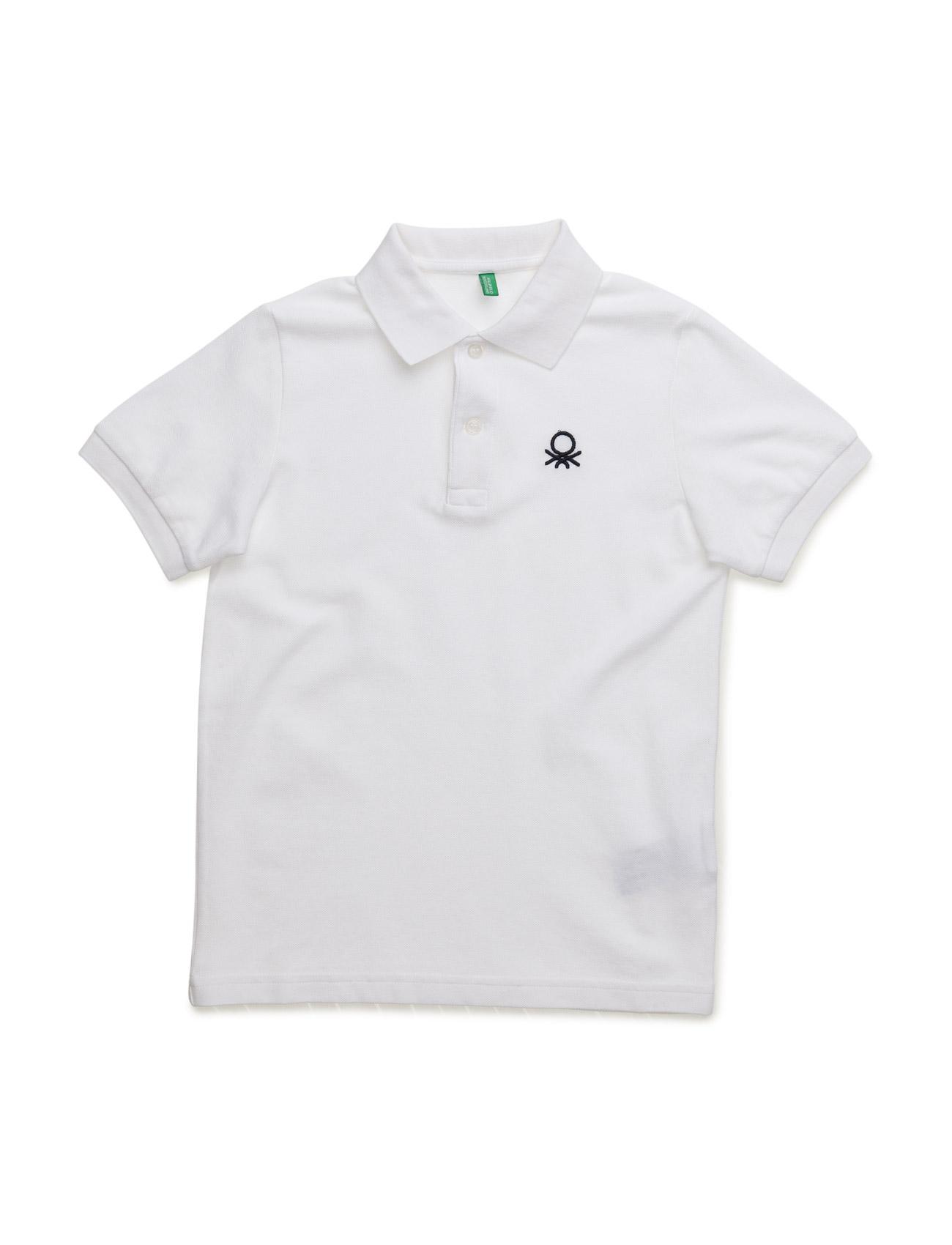 Polo Shirt United Colors of Benetton Kortærmede t-shirts til Børn i