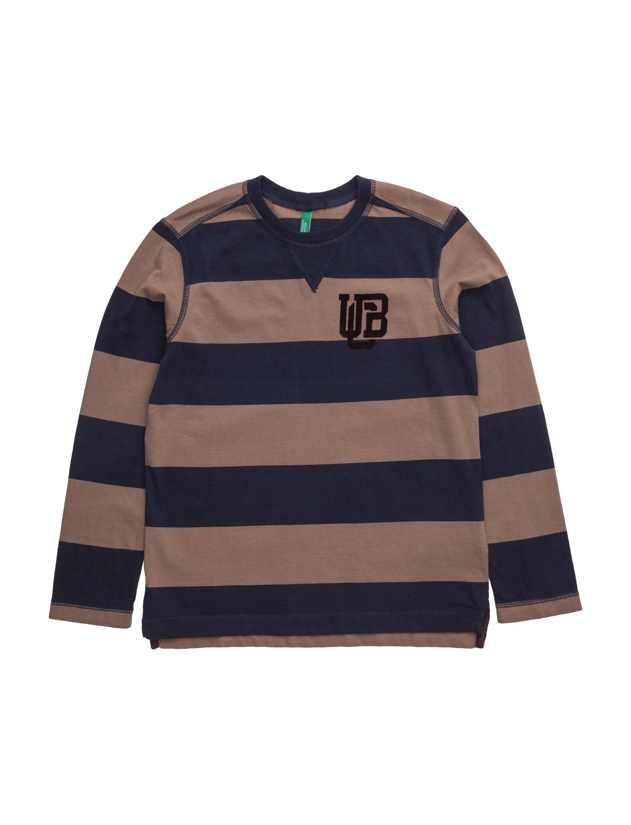 T-Shirt L/S United Colors of Benetton Pullovers til Drenge i