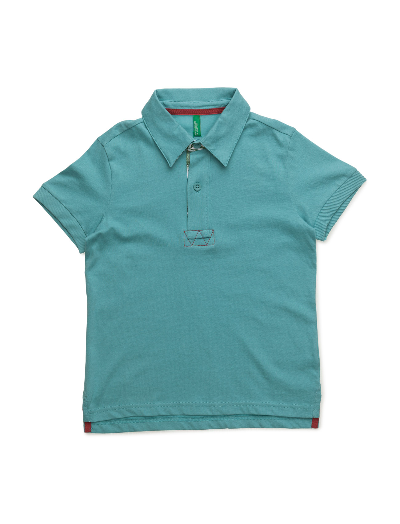 H/S Polo Shirt United Colors of Benetton Kortærmede t-shirts til Børn i Grå