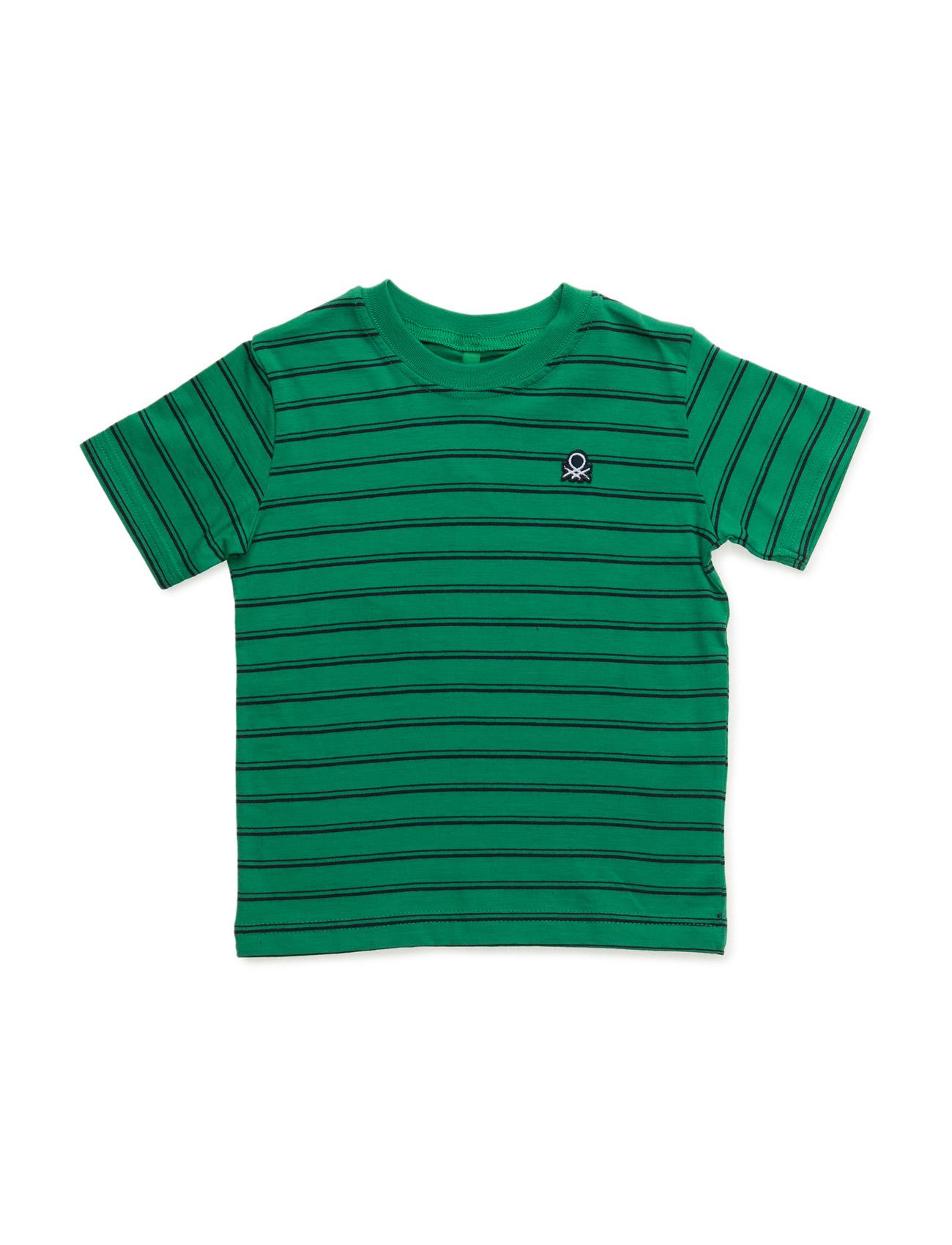 T-Shirt United Colors of Benetton Kortærmede t-shirts til Børn i Blå