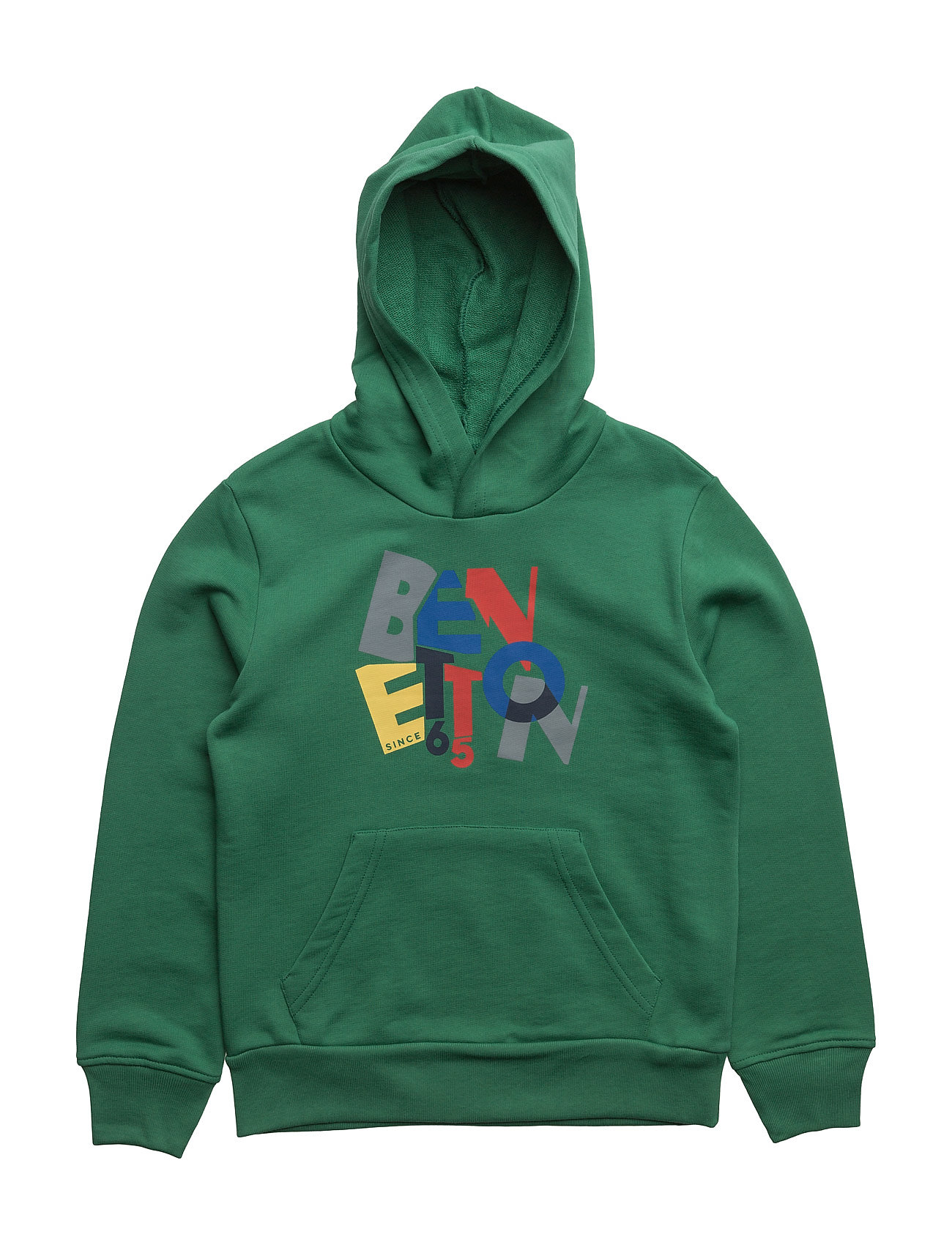 Sweater W/Hood United Colors of Benetton Striktrøjer til Drenge i