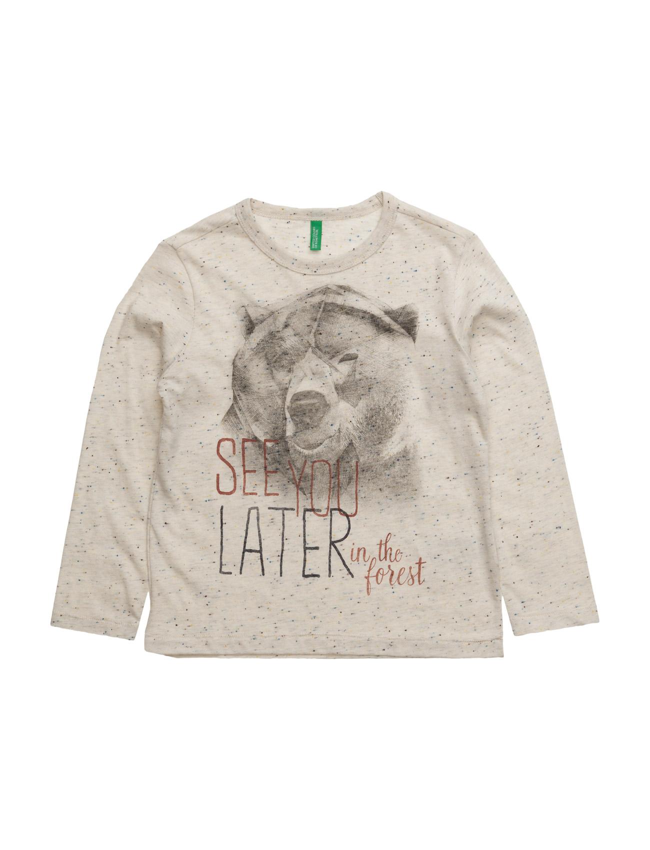 T-Shirt L/S United Colors of Benetton Langærmede t-shirts til Børn i