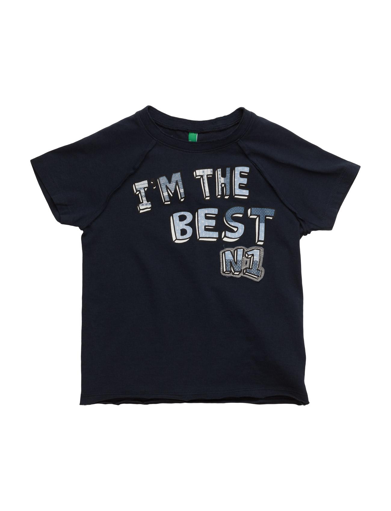 T-Shirt United Colors of Benetton Kortærmede t-shirts til Børn i Navy blå