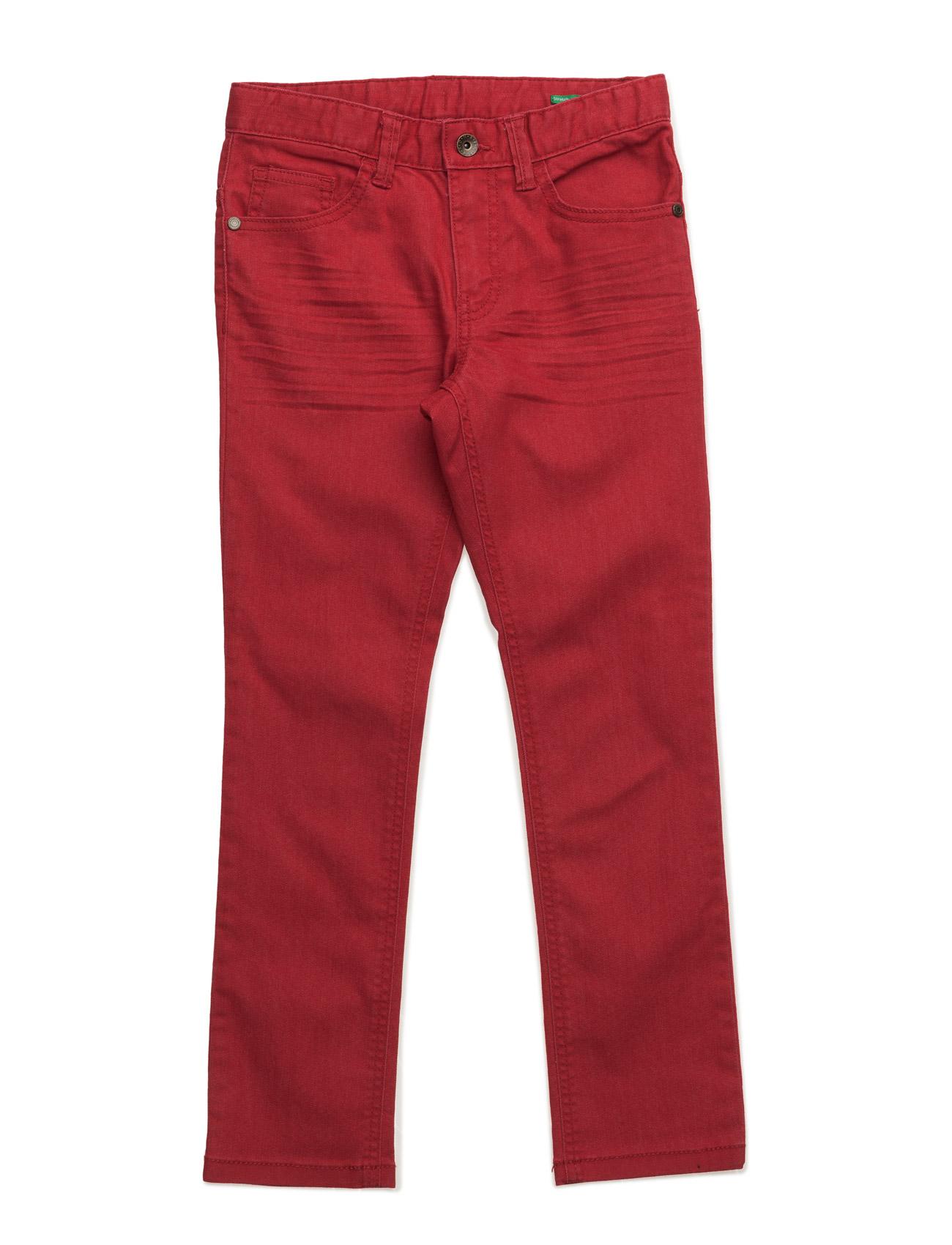 Trousers United Colors of Benetton  til Børn i Rød