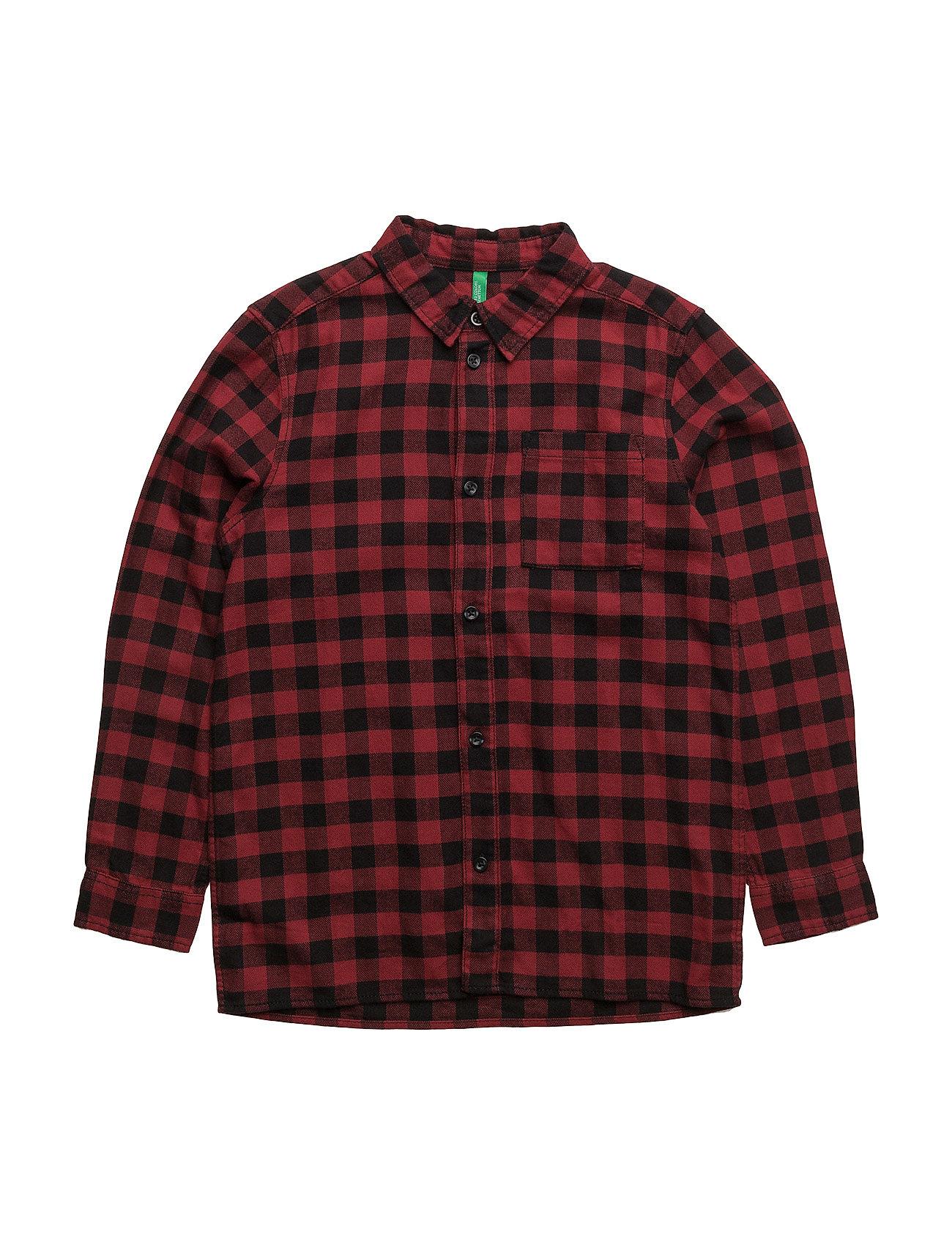 Shirt fra united colors of benetton fra boozt.com dk