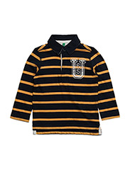 L/S POLO SHIRT - YELLOW NAVY