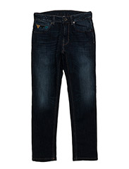 TROUSERS - MID BLUE WASH