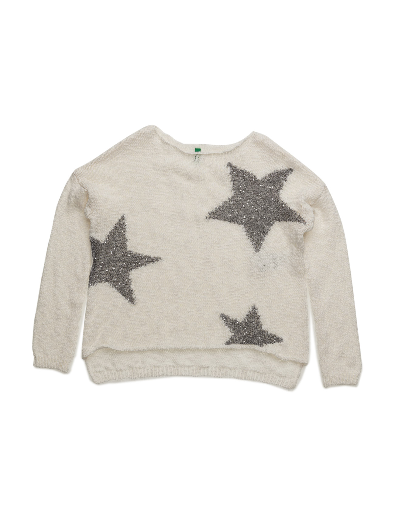 f11f1eec6fa Sweater L/S United Colors of Benetton til Børn i Off White ...