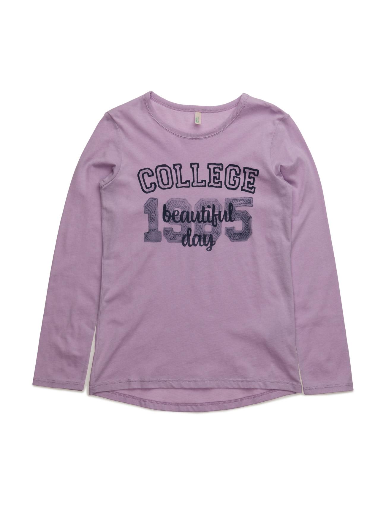 T-Shirt L/S United Colors of Benetton Langærmede t-shirts til Børn i Fløde