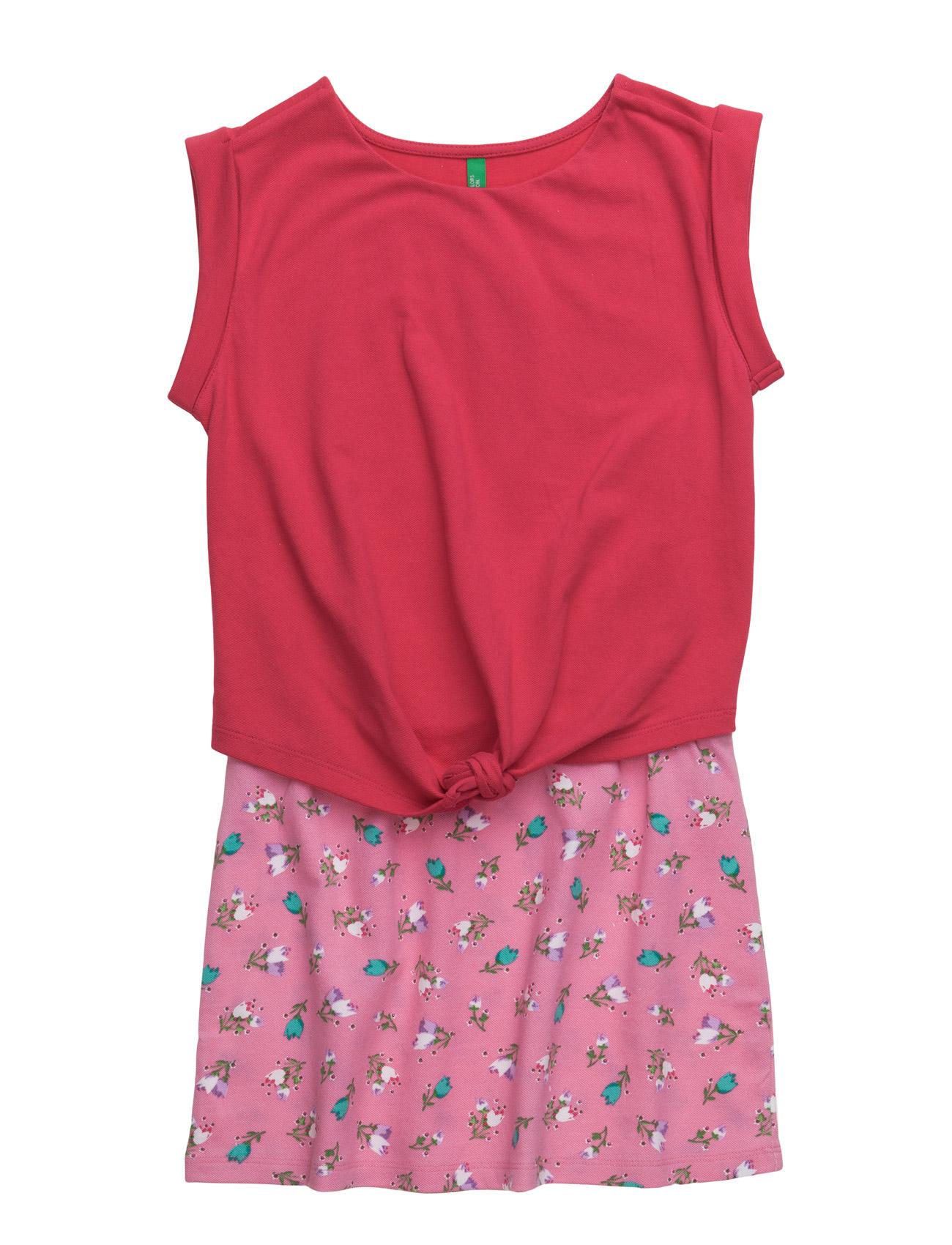 86f7c02384b0 Dress United Colors of Benetton Kjoler til Børn i Lyserød ...