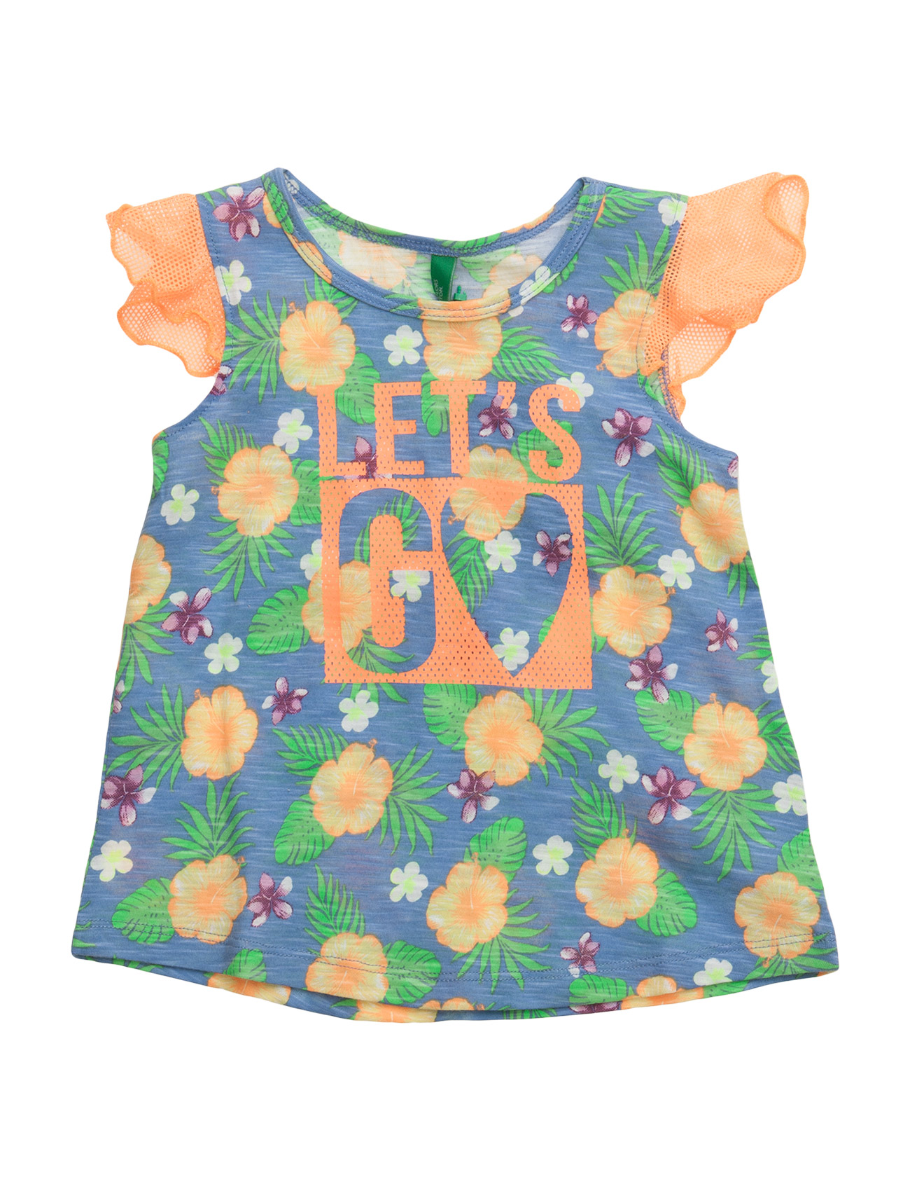 Tank-Top United Colors of Benetton Kortærmede t-shirts til Børn i Lilla