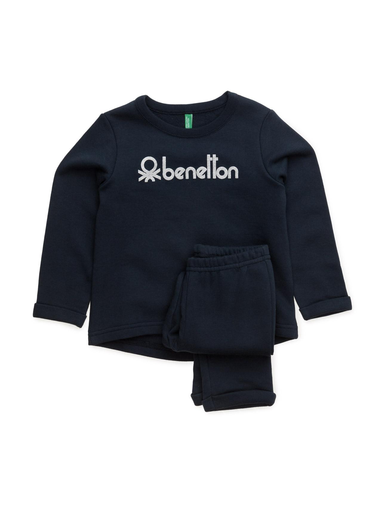 Set Sweater United Colors of Benetton Striktrøjer til Piger i