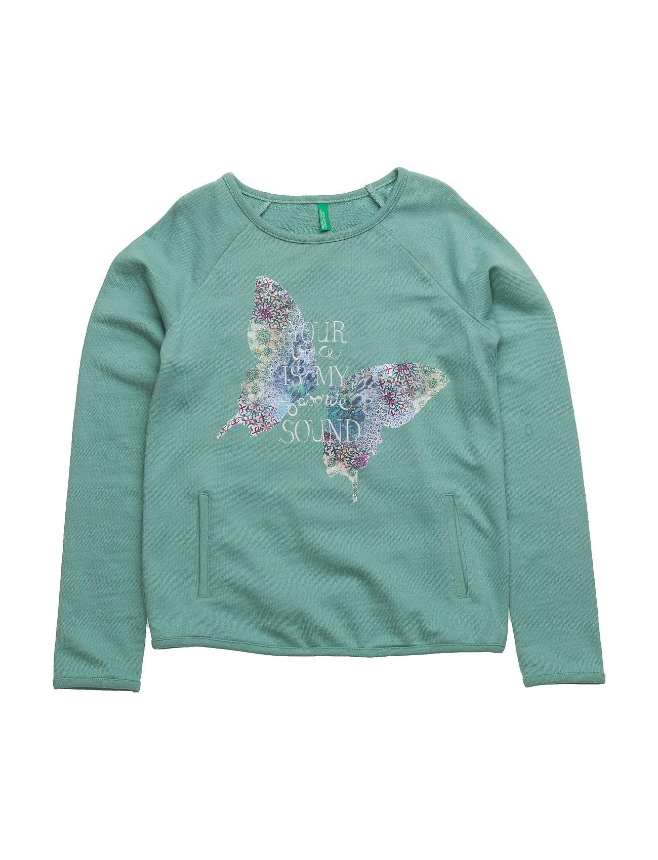 Sweater L/S United Colors of Benetton Langærmede t-shirts til Børn i