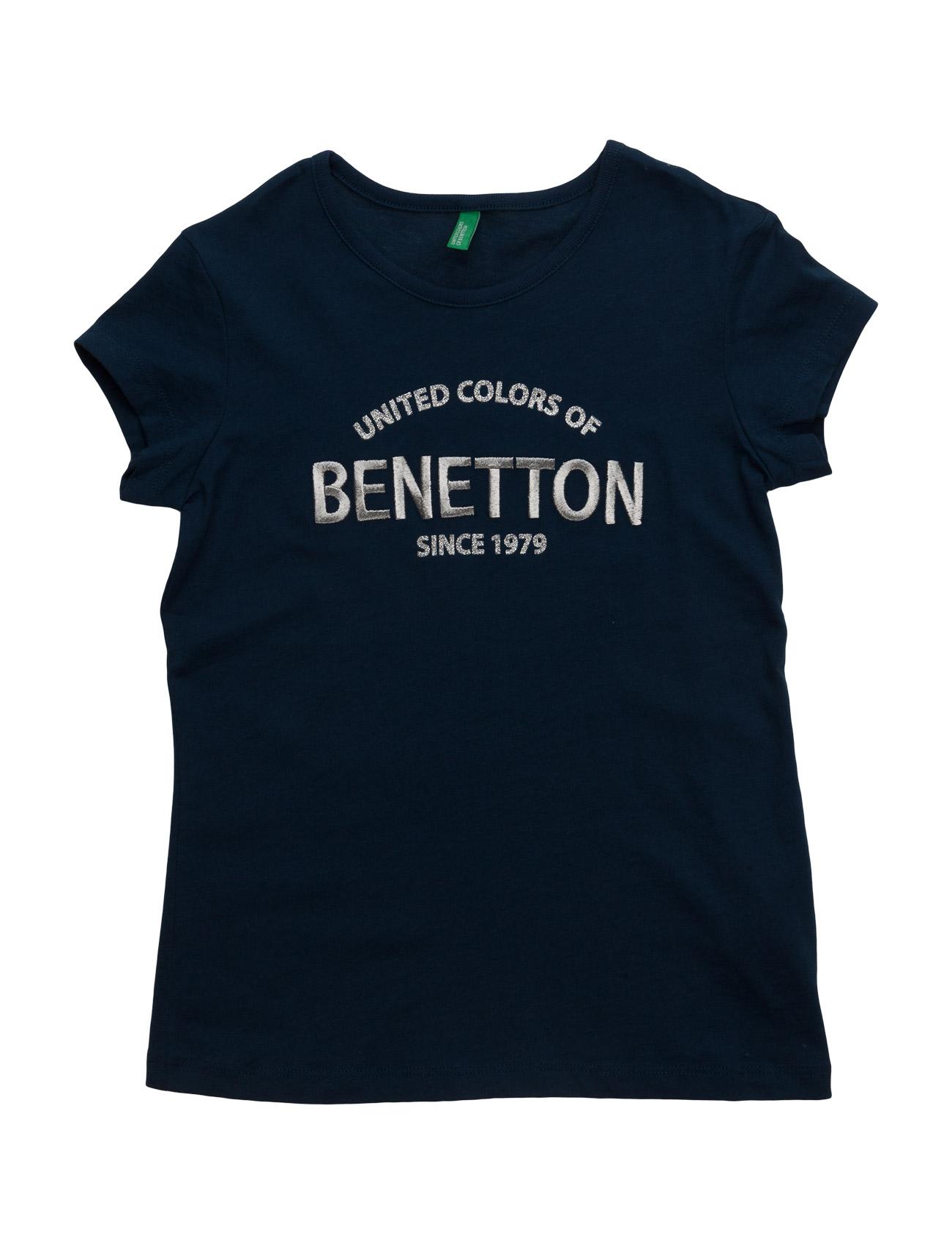 T-Shirt United Colors of Benetton Kortærmede t-shirts til Børn i