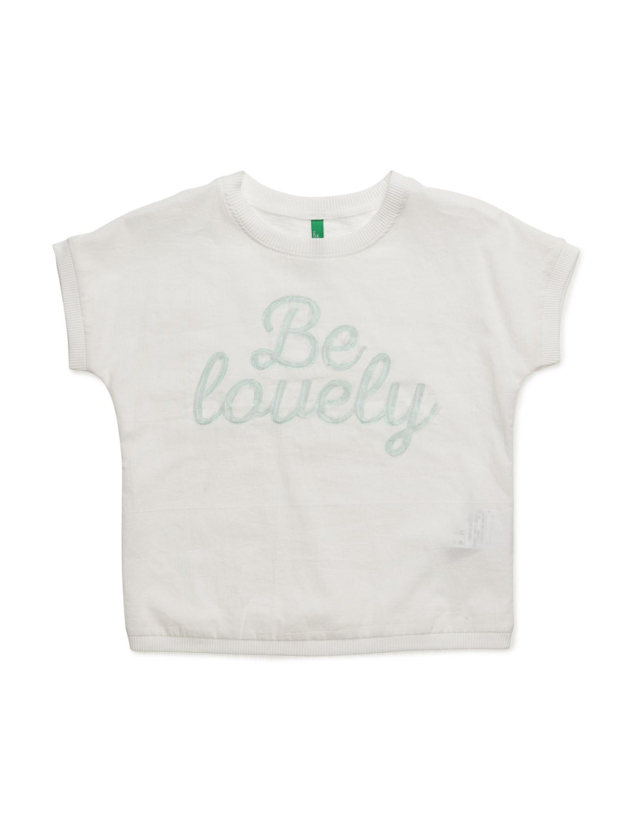 T-Shirt United Colors of Benetton Kortærmede t-shirts til Børn i Fløde