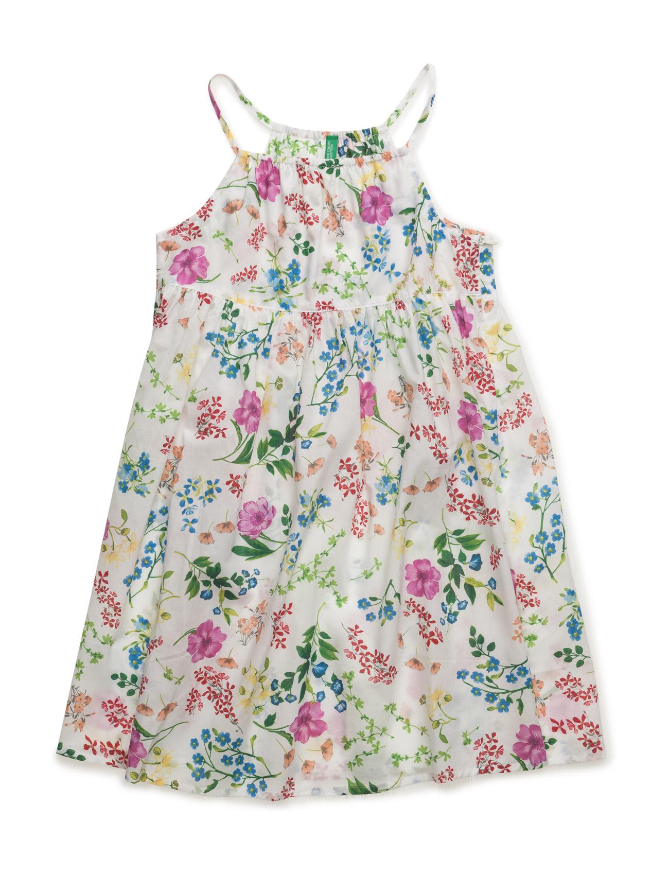 Dress United Colors of Benetton Kjoler til Børn i hvid