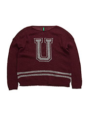 SWEATER L/S - CHERRY