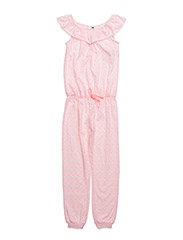 OVERALL - CORAL WHITE