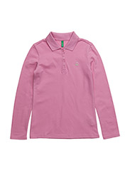 L/S POLO SHIRT - PINK