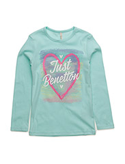 T-SHIRT L/S - TURQUOISE