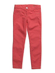 TROUSERS - CORAL/ RED